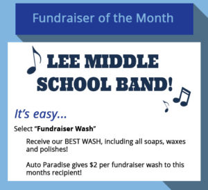2017 October Fundraiser-of-the-Month - Lee Middle School Band