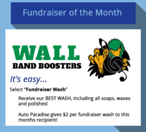 2017 September Fundraiser-of-the-Month - Wall Band Boosters