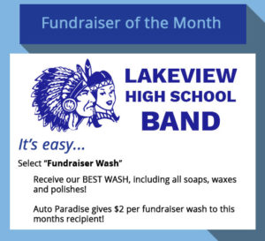 April 2017 Fundraiser of the Month - Lakeview High Schoool Band