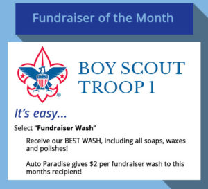 Fundraiser of the Month - February 2017 - Boy Scouts Troop 1