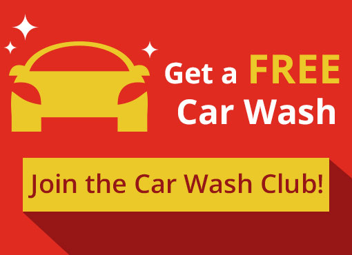 Join The Wash Club - Get A Free Wash!