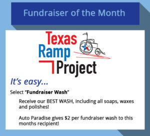 July 2017 Fundraiser of the Month - Texas Ramp Project