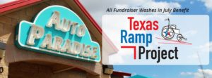 July 2017 Fundraiser of the Month - Texas Ramp Project - Banner