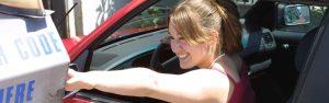 Teenager Entering Car Wash - Auto Paradise Car Wash