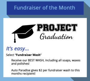 May 2017 - Fundraiser of the Month - Project Graduation