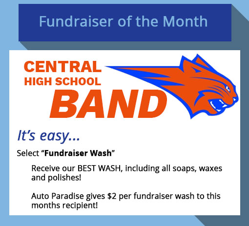 Auto paradise car wash open 24 hours san angelo midland texas 2018 march fundraiser of the month central high school band solutioingenieria Images