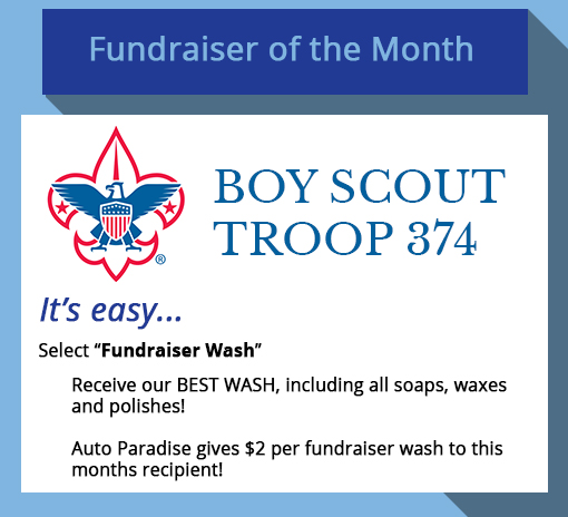 2018 April Fundraiser-of-the-Month - Boy Scout Troop 347