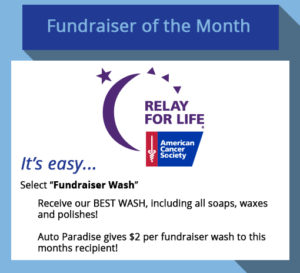 2018 June Fundraiser-of-the-Month - Relay for Life