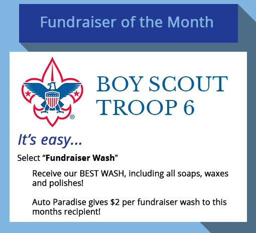 2018 July Fundraiser-of-the-Month - Boy Scout Troop 6