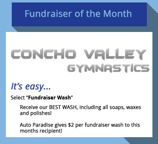 2018 August Fundraiser-of-the-Month - Concho Valley Gymnastics