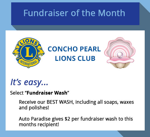 2018 November Fundraiser-of-the-Month - Concho Pearl Lions Club