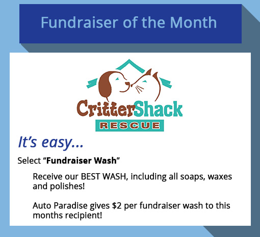 2019 April Fundraiser-of-the-Month - Critter Shack Rescue