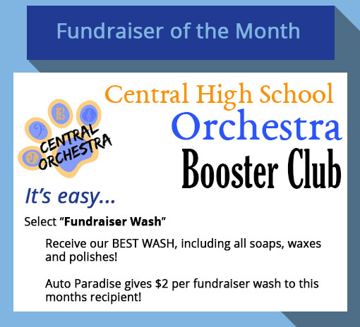 2019 August - Fundraiser-of-the-Month - Central High School Orchestra Booster Club