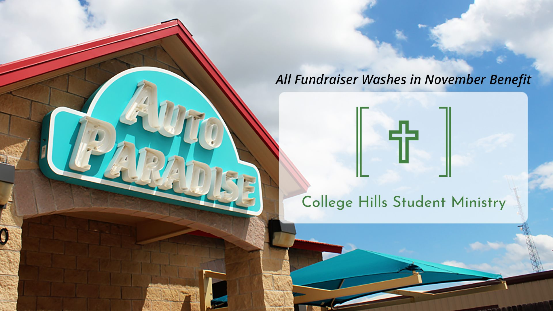 2019 November - Fundraiser-of-the-Month - College Hills Student Ministry