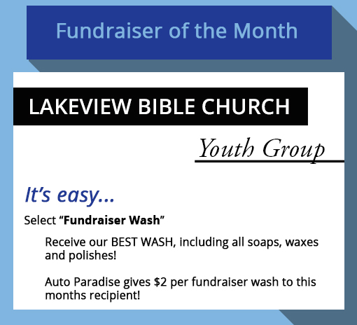 2021 September - Fundraiser-of-the-Month - Lakeview Bible Church Youth Group